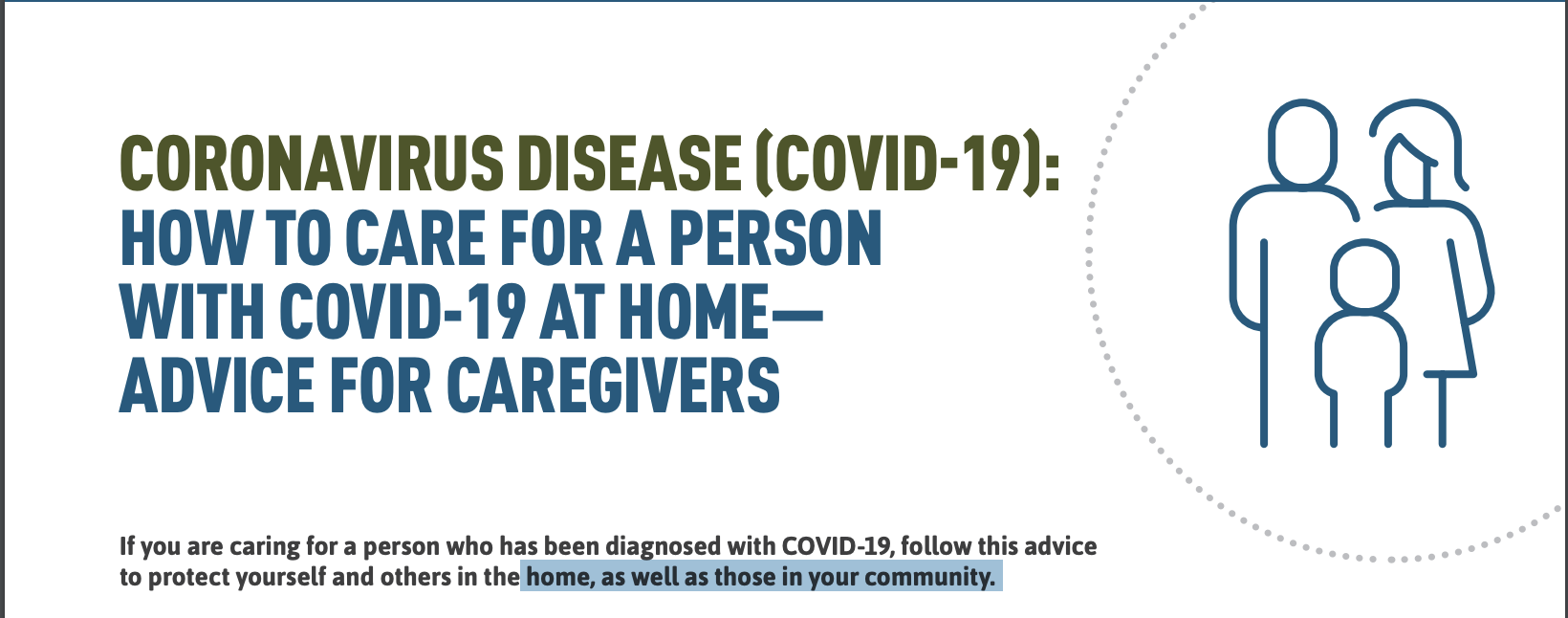 Caring For Yourself or A Person with COVID-19
